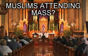 muslims at mass