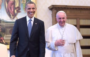 Pope and Obama